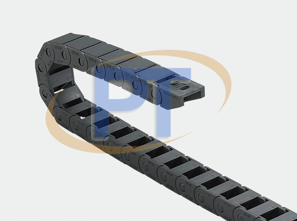 Xích nhựa cuốn cáp seri Mini J10BF.1.B – Không Thể Mở Nửa Kín