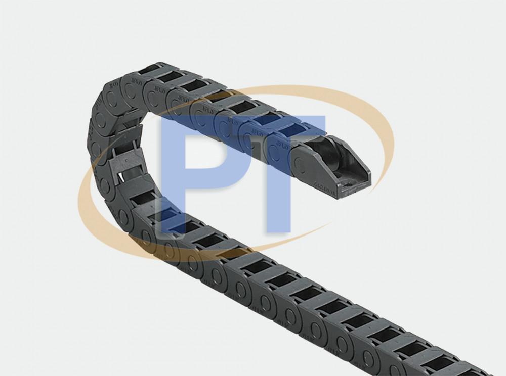Xích nhựa cuốn cáp seri Mini J10Q.1.B – Cầu Không Thể Mở