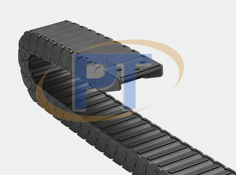 Xích nhựa cuốn cáp seri J18F.1.B – Cầu Không Thể Mở