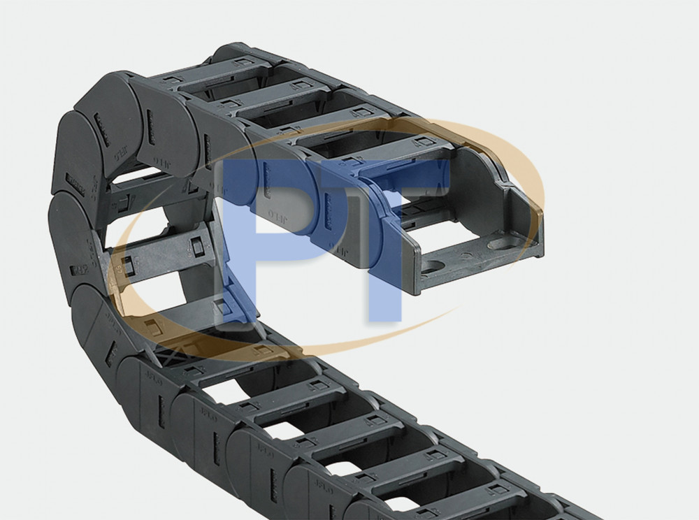 Xích nhựa cuốn cáp seri J25Q.1.S – Cầu Có Thể Được Mở Ở Cả Hai Bên