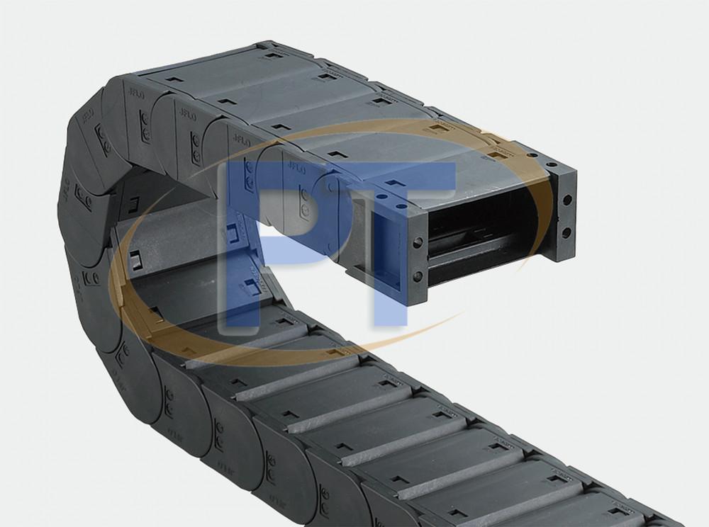 Xích nhựa cuốn cáp seri J30F.1.S – Có Thể Mở Các Mặt Đóng
