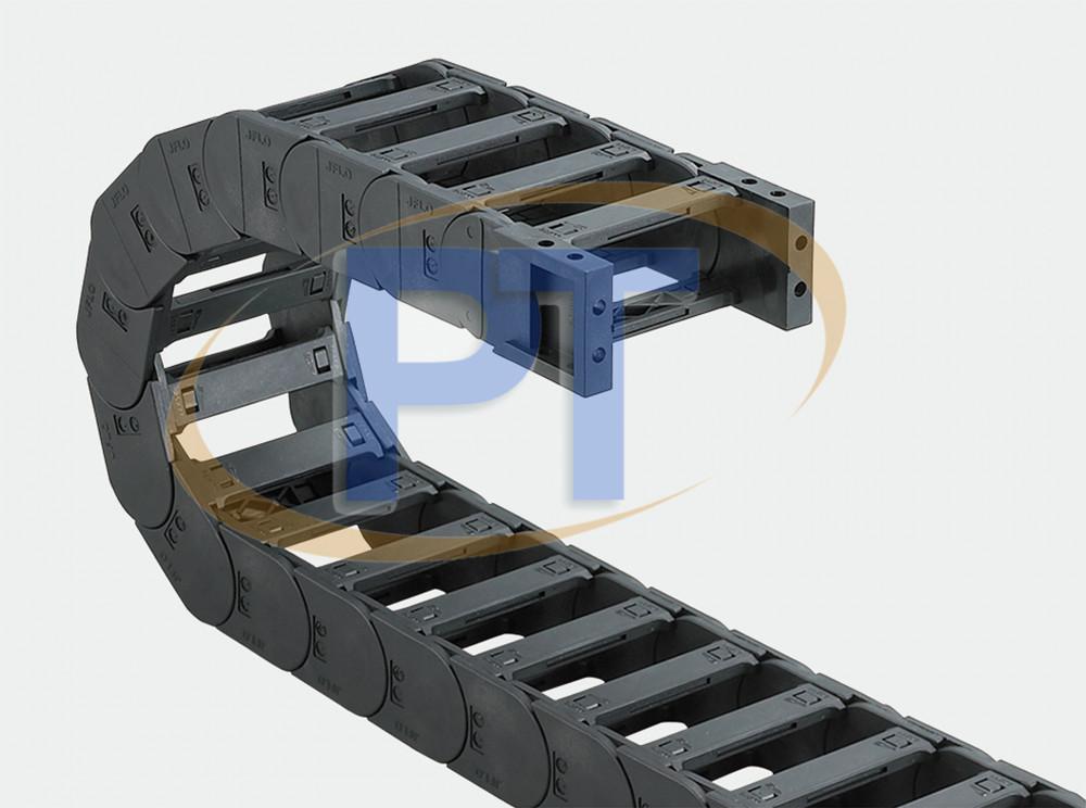 Xích nhựa cuốn cáp seri J30Q.1.S – Cầu Có Thể Được Mở Ở Cả Hai Bên