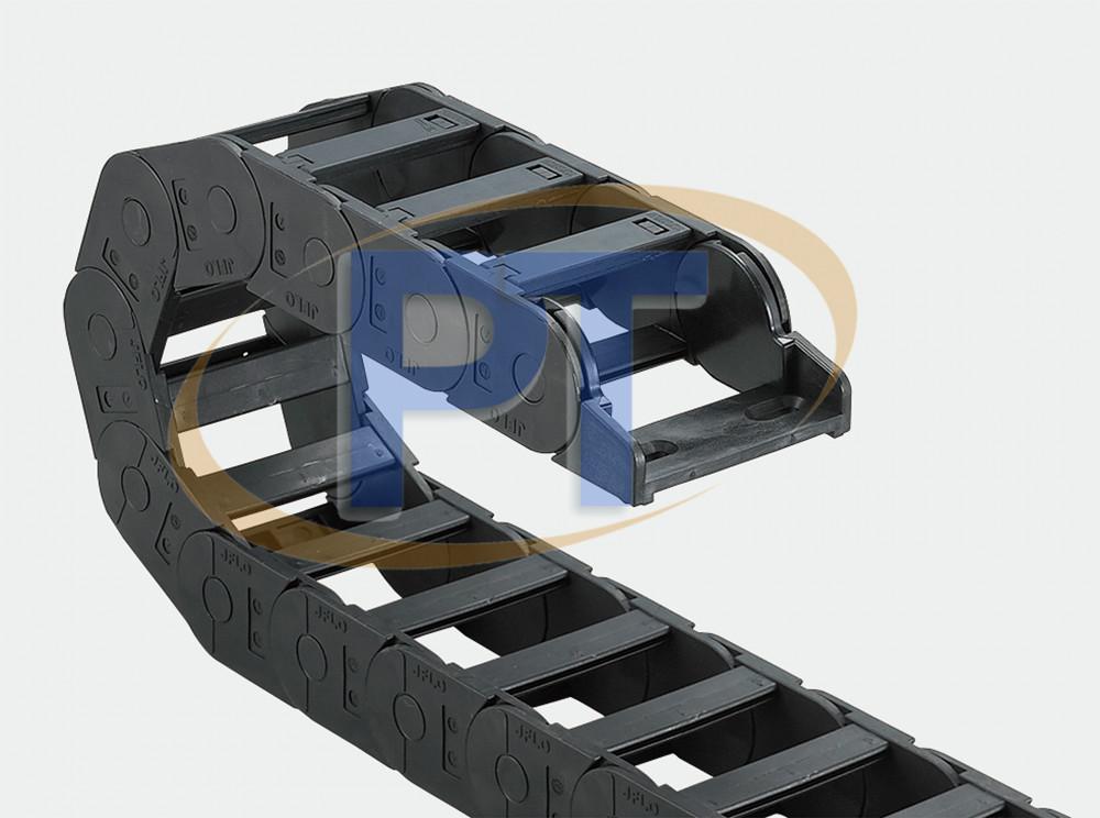 Xích nhựa cuốn cáp seri J35Q.3.W (Đã Kết Nối) – Cầu Ngoài Mở