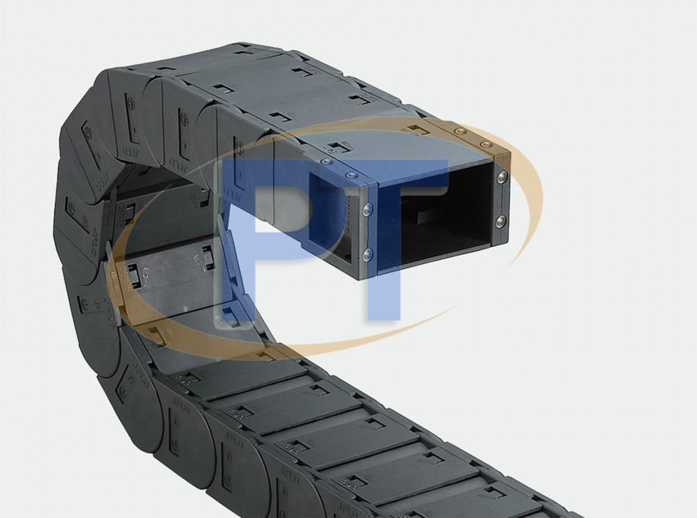 Xích nhựa cuốn cáp seri J45F.1.S – Có Thể Mở Các Mặt Đóng