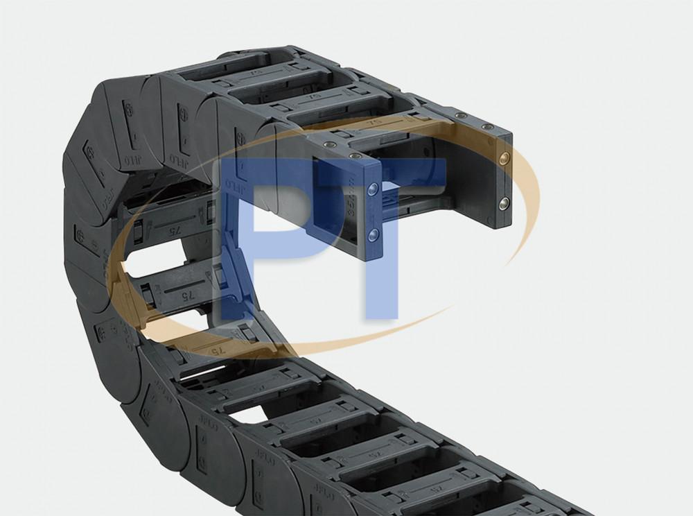 Xích nhựa cuốn cáp seri J45Q.1.S – Cầu Có Thể Được Mở Ở Cả Hai Bên